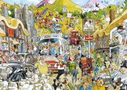Britain United Cartoons Jigsaw Puzzle