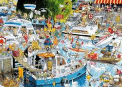 Cruise Chaos Cartoons Jigsaw Puzzle