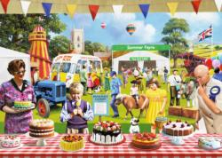 The Baking Fair Nostalgic / Retro Jigsaw Puzzle