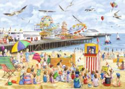 Clacton-on-sea Beach Jigsaw Puzzle