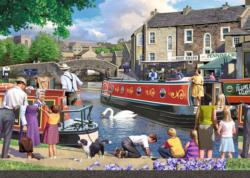 Sunday on the Canal Jigsaw Puzzle