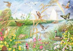 Norfold Broads Butterflies and Insects Jigsaw Puzzle