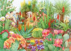 The Flower Show: Desert Plants Garden Jigsaw Puzzle