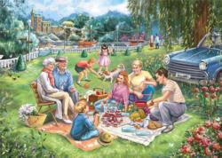Birthday Picnic Outdoors Jigsaw Puzzle
