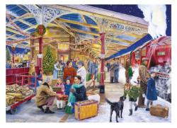 Coming Home for Christmas Christmas Jigsaw Puzzle