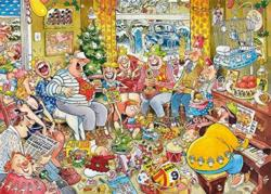 Twelve Days of Christmas Domestic Scene Jigsaw Puzzle
