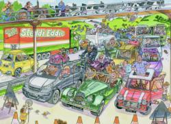 Wasgij Original #19: Cone-gestion Wasgij Jigsaw Puzzle