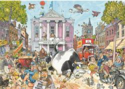 Wasgij Destiny #12: Market Mayhem Wasgij Jigsaw Puzzle