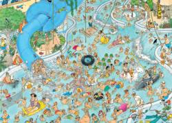 Whacky Water World! Cartoons Jigsaw Puzzle