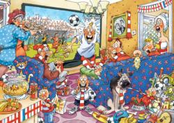 Wasgij #21: Football Fever Wasgij Jigsaw Puzzle