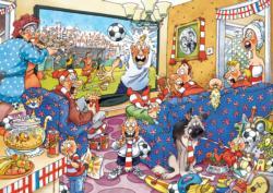 Wasgij #21: Football Fever Wasgij Jigsaw Puzzle