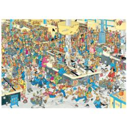 Queued Up! Christmas Jigsaw Puzzle