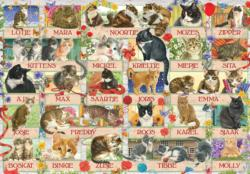 Francien's Cat Anniversary Collage Jigsaw Puzzle