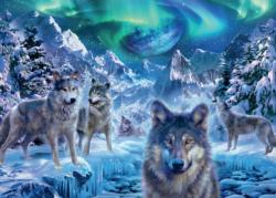 Winter Wolfs Snow Jigsaw Puzzle