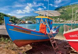 Greek Lake Seascape / Coastal Living Jigsaw Puzzle
