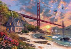 Golden Gate Bridge Sunrise/Sunset Jigsaw Puzzle