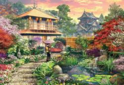 Japanese Garden Japan Jigsaw Puzzle