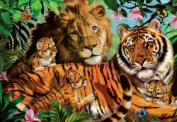 Wild Cats Baby Animals Jigsaw Puzzle