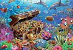 Underwater Treasure Under The Sea Jigsaw Puzzle