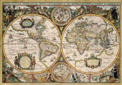 World Map From 1630 Jigsaw Puzzle