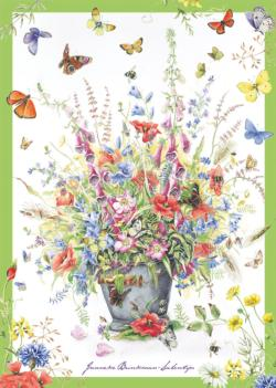 Summer Bouquet Flowers Jigsaw Puzzle
