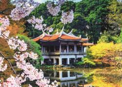 Blossom in Japan Asia Jigsaw Puzzle