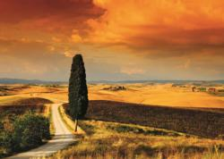 Tuscan Sunset Sunrise/Sunset Jigsaw Puzzle
