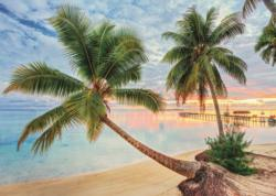 French Polynesia Beach Jigsaw Puzzle