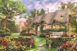 Sunny Cottage Cottage/Cabin Jigsaw Puzzle