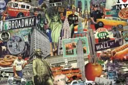 Best of… New York Collage Jigsaw Puzzle