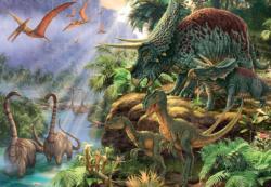 Dinosaur Valley Dinosaurs Jigsaw Puzzle