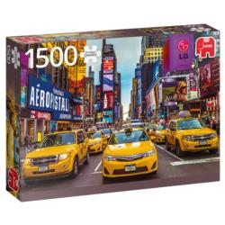 New York Taxi New York Jigsaw Puzzle