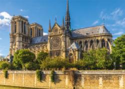 Notre Dame, Paris Churches Jigsaw Puzzle