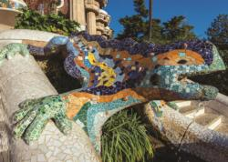 Parque Guell, Barcelona Landmarks Jigsaw Puzzle