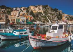 Symi, Greece Seascape / Coastal Living Jigsaw Puzzle