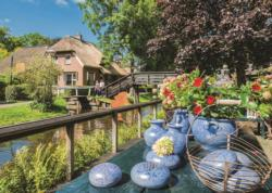 Giethoorn, The Netherlands Lakes / Rivers / Streams Jigsaw Puzzle