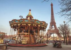 Paris, France Carnival Jigsaw Puzzle