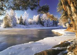 Dal River, Sweden Lakes / Rivers / Streams Jigsaw Puzzle