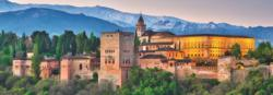 Alhambra, Spain Castles Panoramic Puzzle