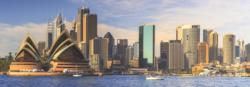 Sydney Skyline Australia Panoramic