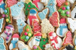 Christmas Biscuits Food and Drink Jigsaw Puzzle