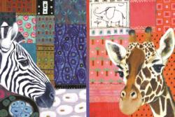 African Art Pattern / Assortment Jigsaw Puzzle