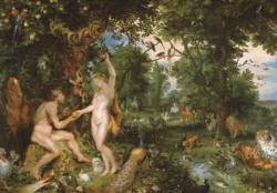 Rubens, The Garden of Eden Animals Jigsaw Puzzle