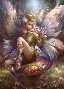 Enchanting Fairy Fairies Jigsaw Puzzle