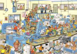 The Printing Office Cartoons Jigsaw Puzzle