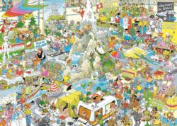 The Holiday Fair Cartoons Jigsaw Puzzle