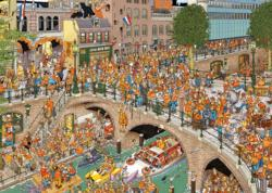 Kingsday Cartoons Jigsaw Puzzle