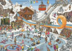 Winter Games Cartoons Jigsaw Puzzle