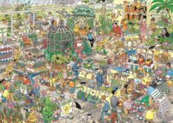 Garden Center Cartoons Jigsaw Puzzle