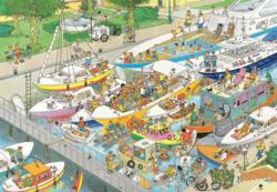 The Locks Cartoons Jigsaw Puzzle